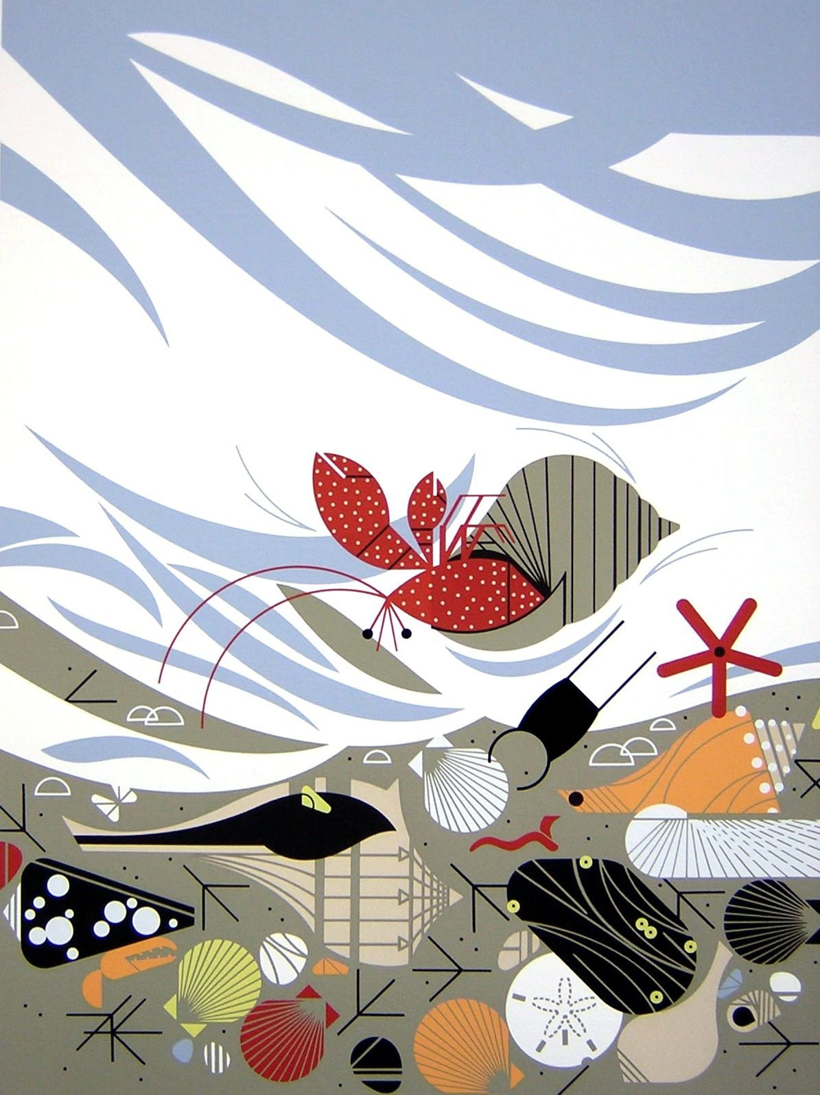 The Paper Coyote: Charley Harper   Lili   Pinterest   Inspiración ...
