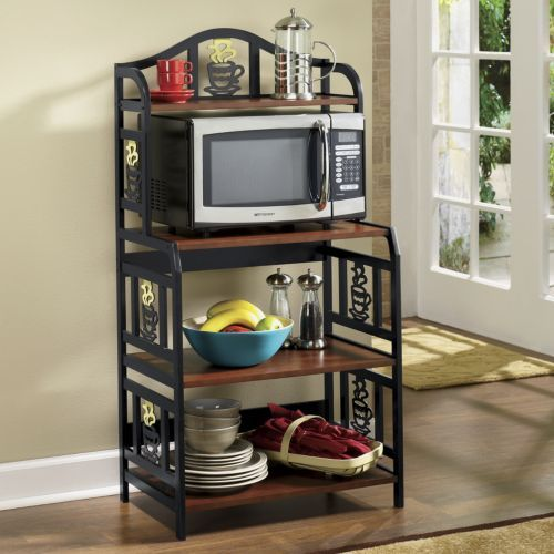 Coffee Cup Microwave Cart