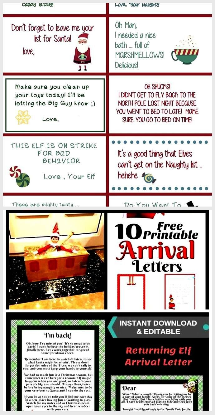 Shelf Printable Notes  Includes Welcome   Goodbye Letters and FIRST time Elf Visit 40 Elf Shelf Printable Notes  Includes Welcome   Goodbye Letters and FIRST time Elf Vis...