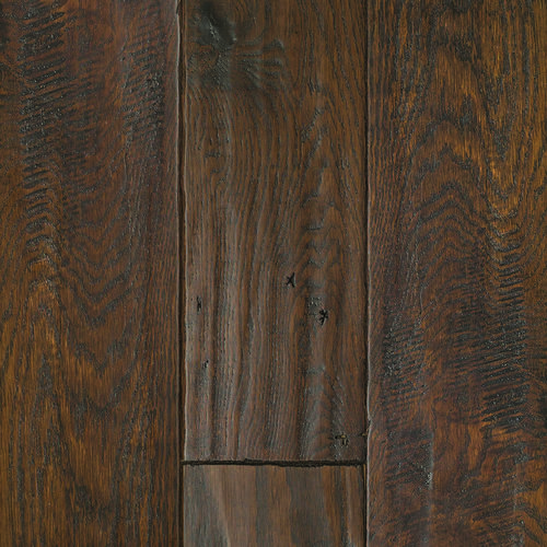 Great Lakes Wood Floors 3/4 x 4 Smokey Topaz Hand Sculpted