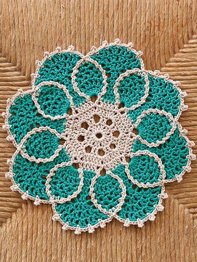 4 Hour Doilies Crochet Pattern Crochet Doily Pinterest