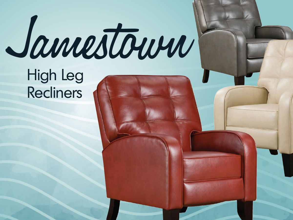 Kick off 2016 by kicking your feet up on a Jamestown High Leg Recliner. Sign up for Home Furniture emails by January 10th to save 30% on this luxurious club chair. http://bit.ly/1JzORyR