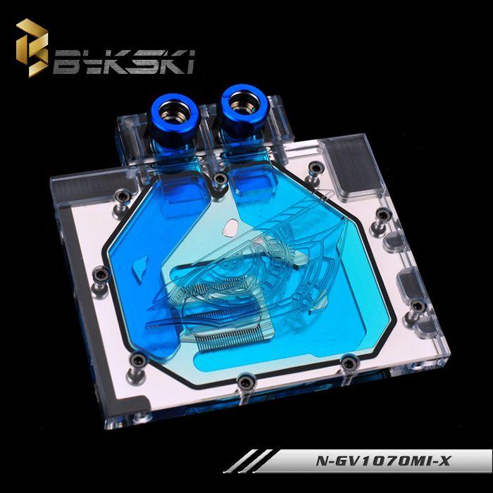 Bykski N Gv1070mi X Full Cover Graphics Card Water Cooling Block