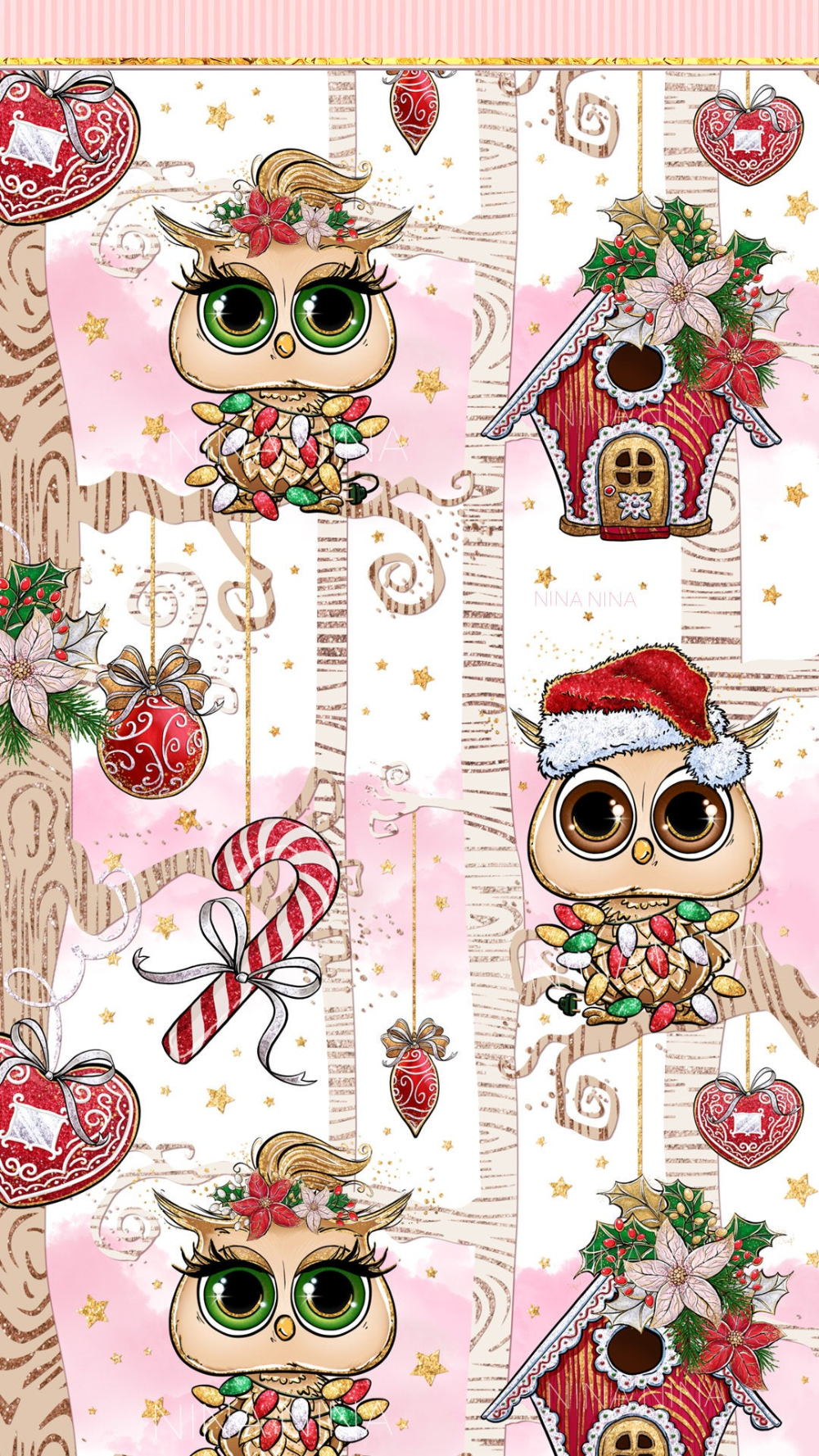 Owl Christmas Iphone Wallpaper Owl Wallpaper Iphone Cute Owls Wallpaper Owl Background