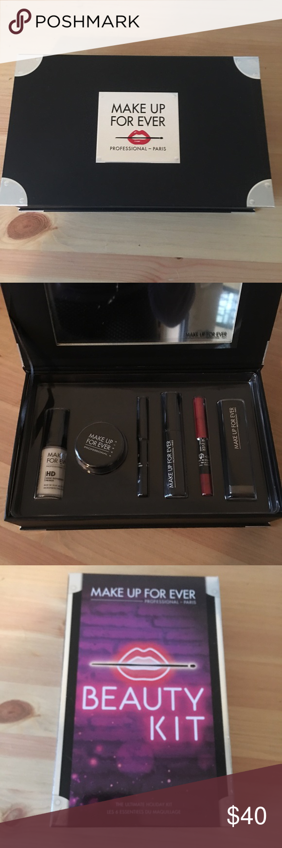 Makeup Forever Beauty Kit What it is A set of six