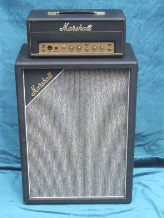 Marshall Jtm 45 First Guitar Amplifier Made By Marshall