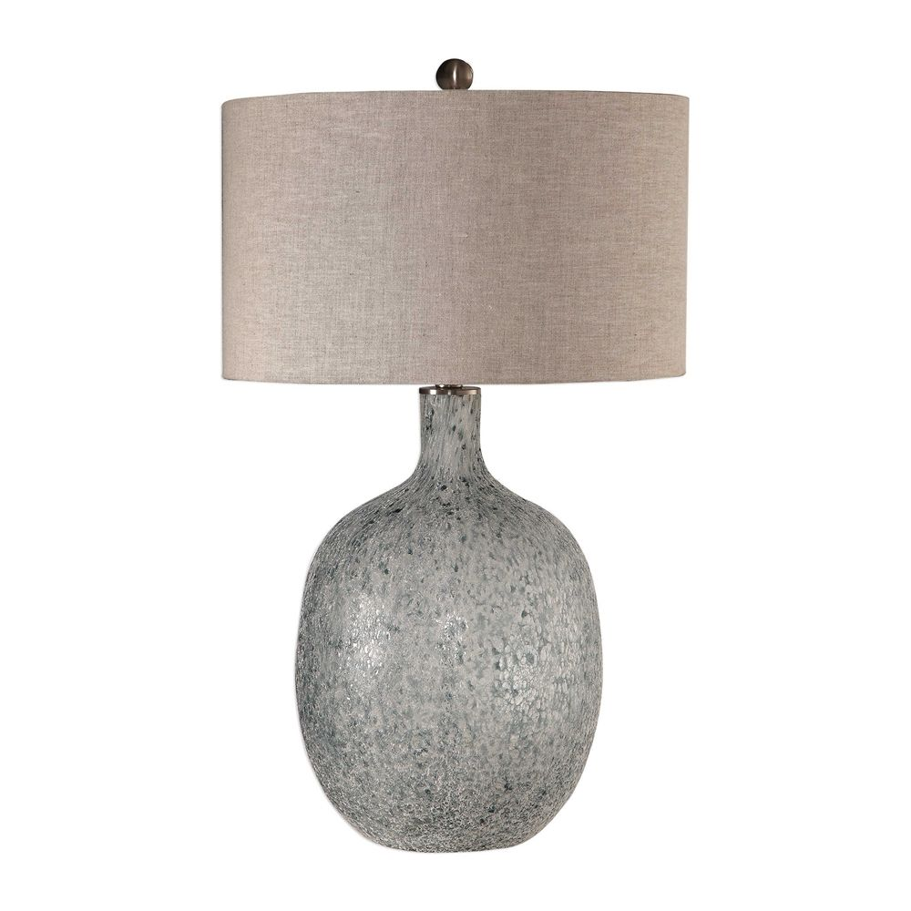 Uttermost Oceaonna Glass Table Lamp Glass Table Lamp White Table Lamp Glass Table