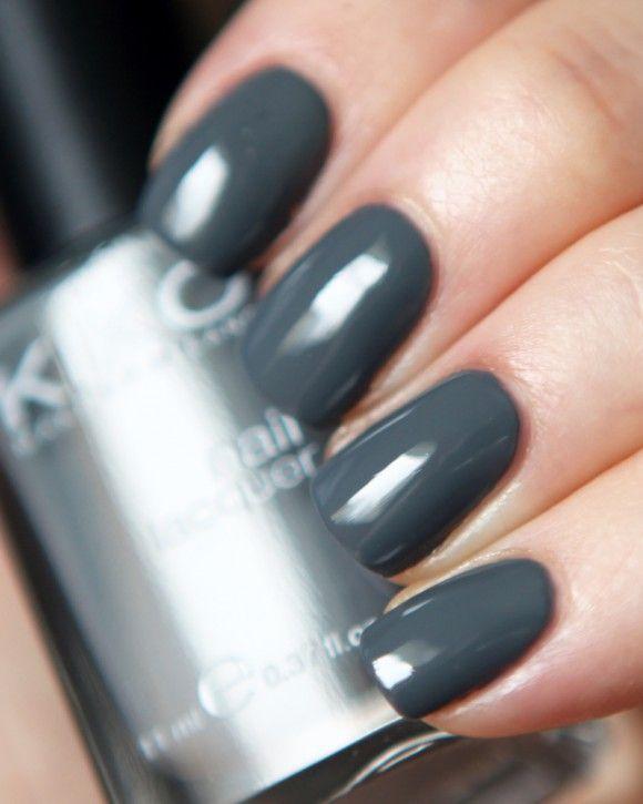 KIKO Nail Lacquer 327 Granite Gray