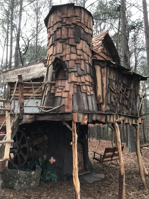 Tinker Bell Tree House Cool Tree Houses Tree House Tree House Designs
