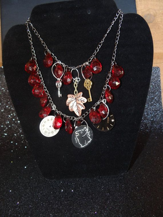steampunk in red by CridegaCreations on Etsy, $40.00