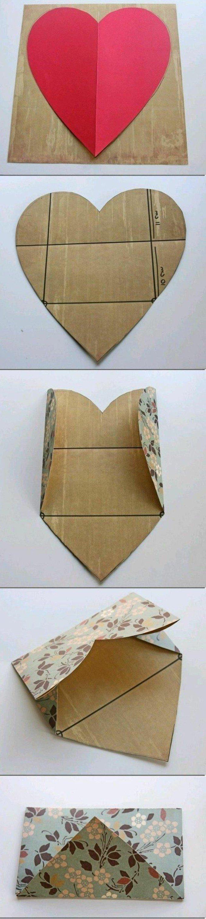les meilleures id es pour fabriquer une enveloppe charmante soi m me sending love art. Black Bedroom Furniture Sets. Home Design Ideas