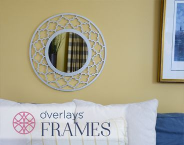 O'verlays decorative fretwork panels