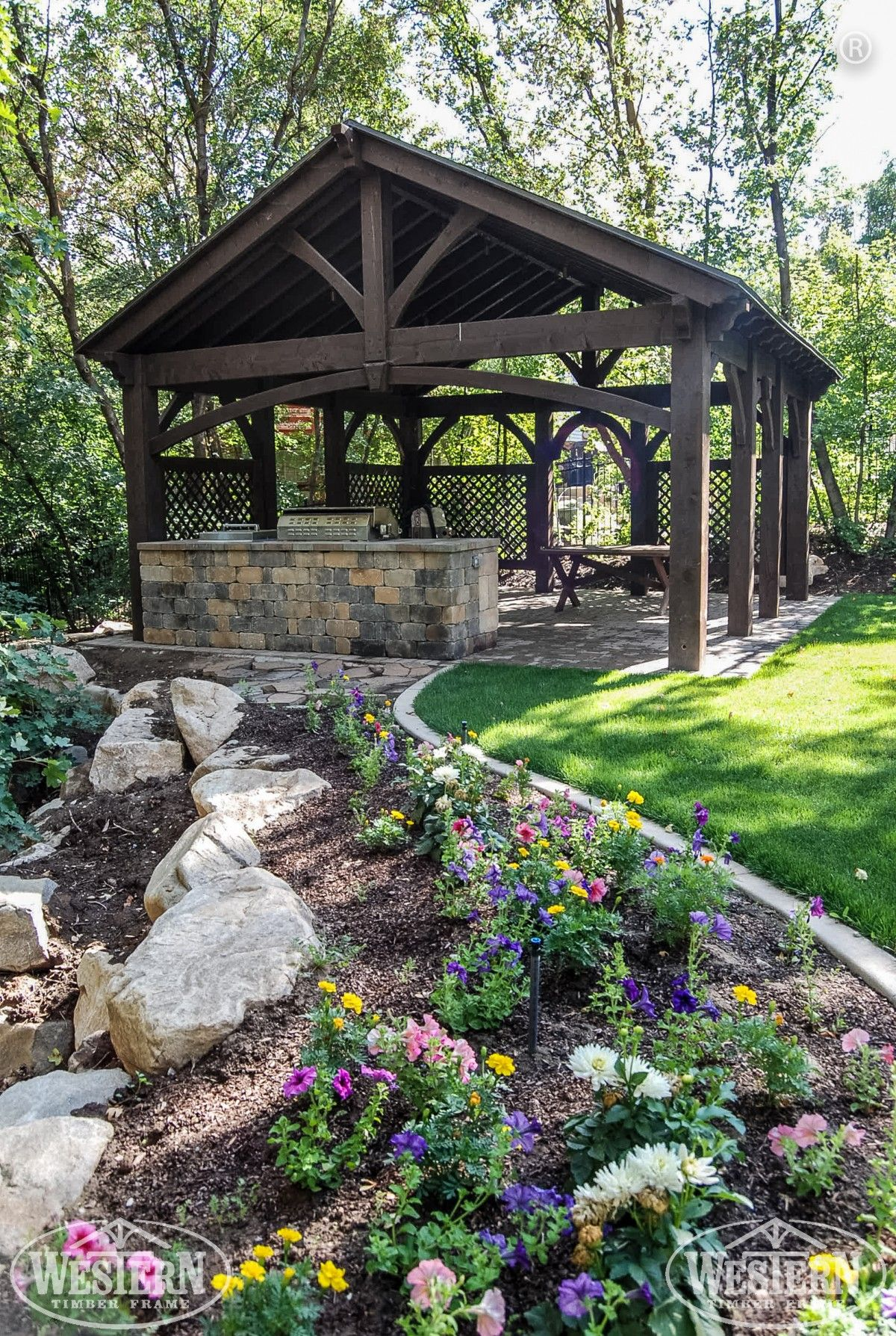 Gallery In 2019 Timber Frame Gazebos Pavilions