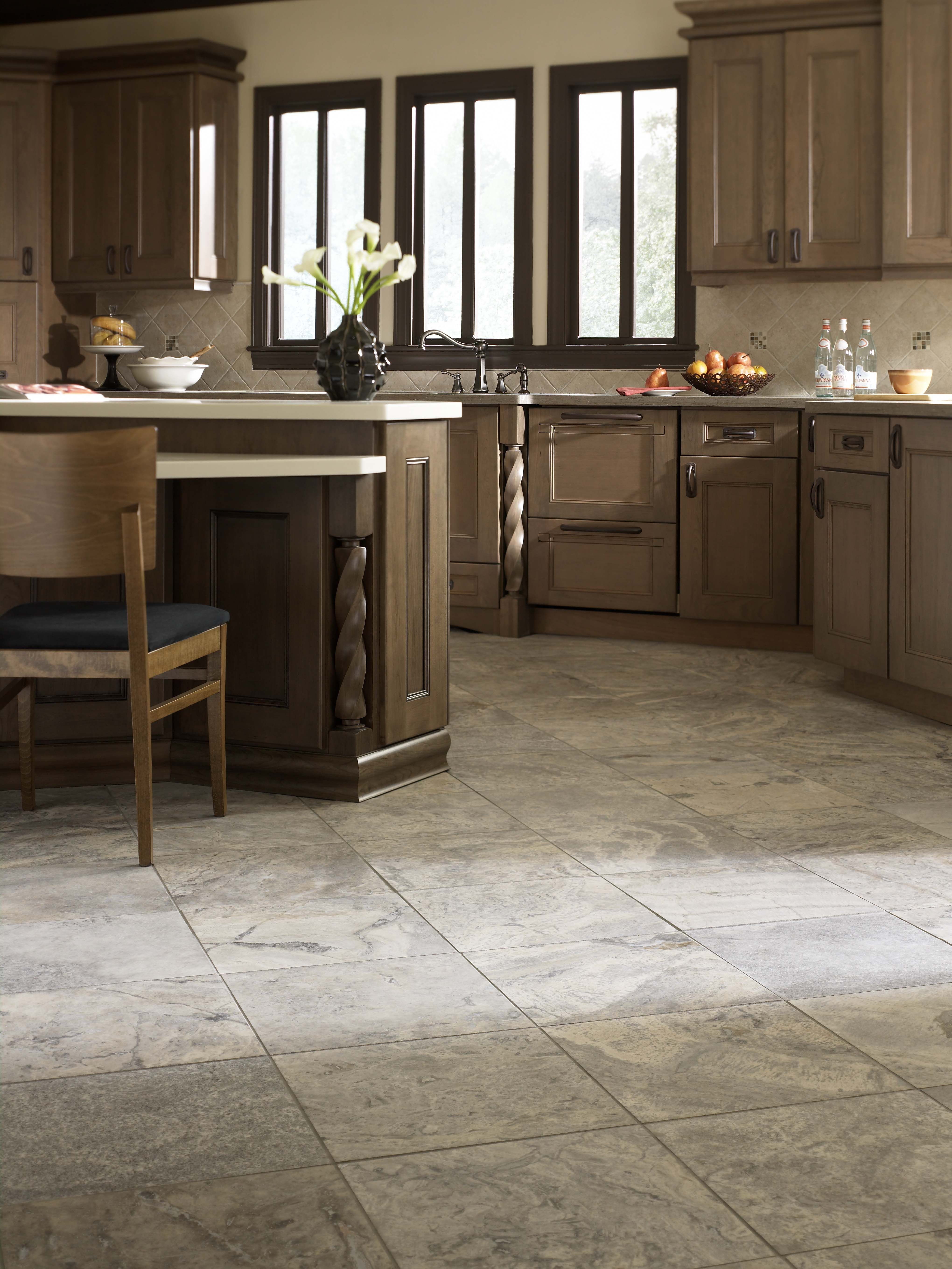 Travertine From Florida Tile Kitchen Flooring Floor Tile Design