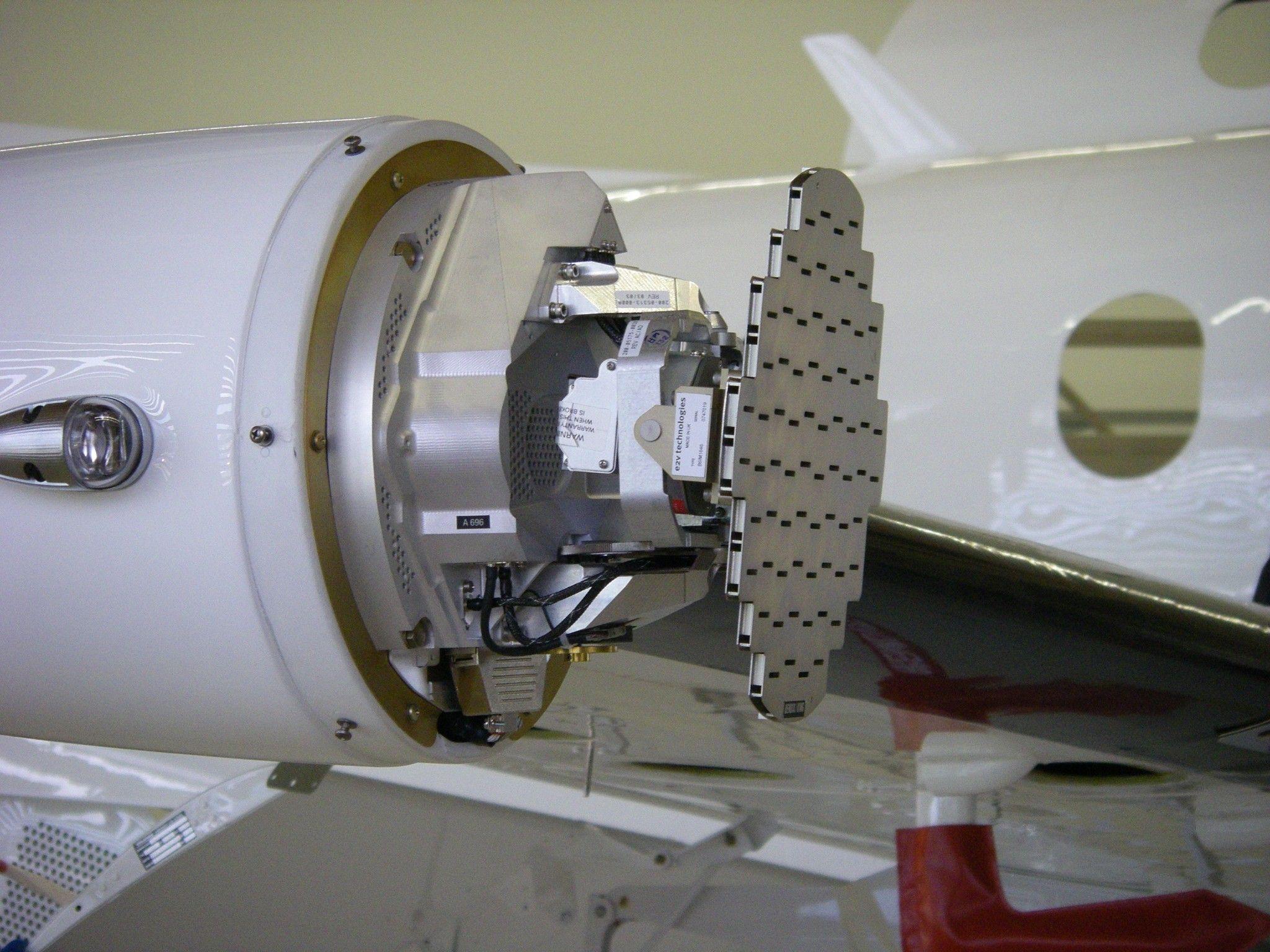 PC-12 RADAR Pod Exposed | Atmospheric dynamics | Kitchen aid