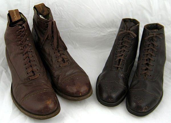 Mens cap toe boots. ca.1920 1920s Mens Shoes 4ff38afa06
