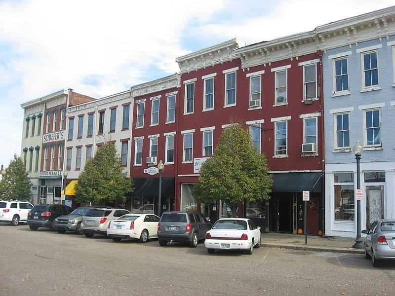 Boneyfiddle Commercial District Portsmouth ohio