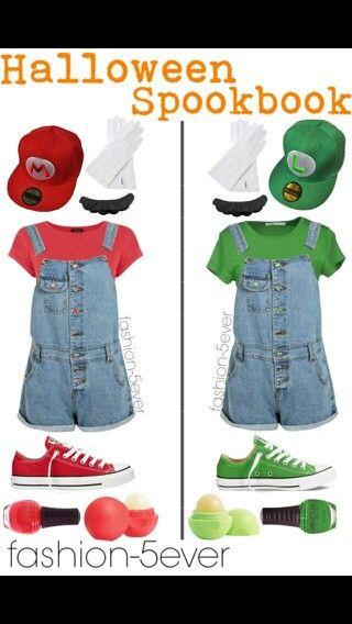 Mario brother costumes Costumes Pinterest Costumes, Halloween
