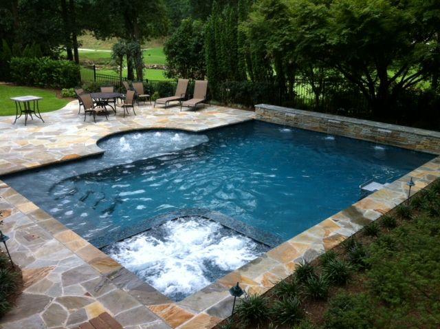 Freeform Pool Gallery Swimming Pools Backyard Small Backyard Pools Inground Pool Designs