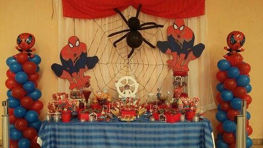Pachuca De Soto Spiderman Birthday Minecraft Birthday Party Minecraft Birthday