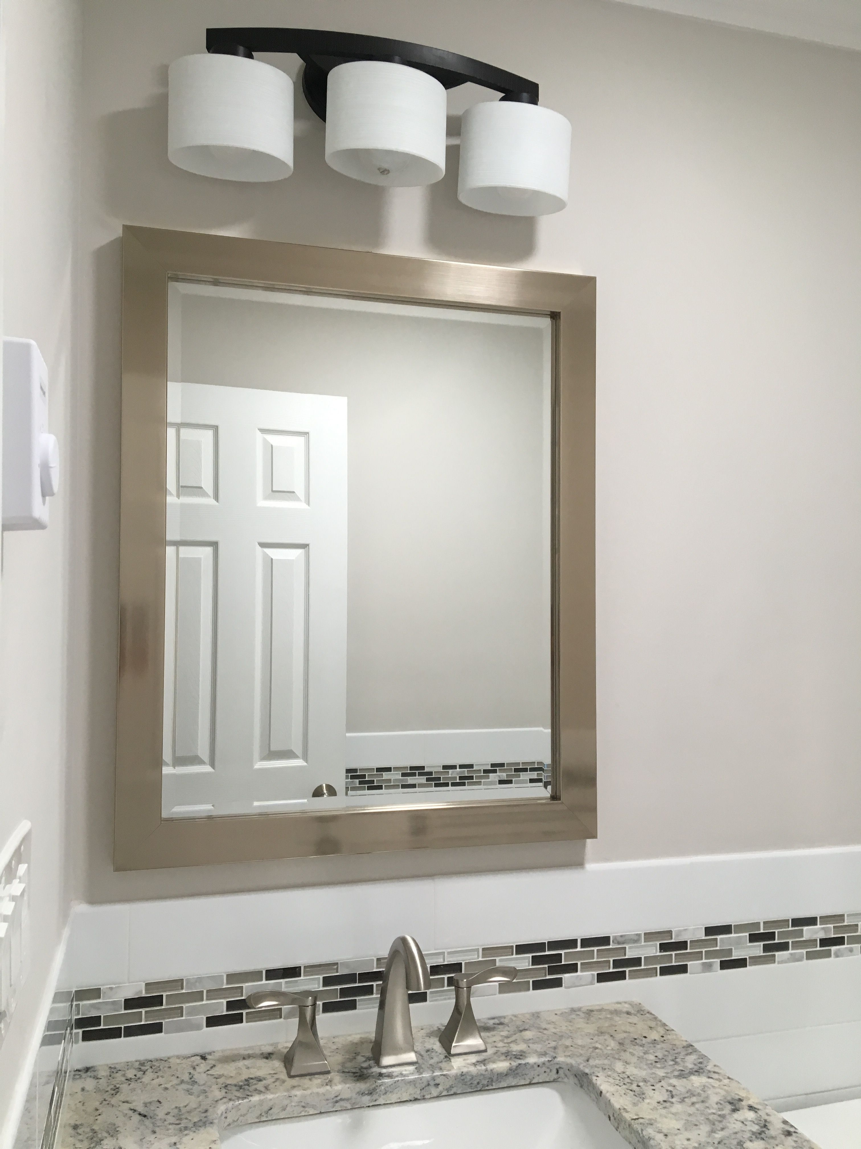 Benjamin Moore Balboa Mist Wall Color Mirror From Home Depot