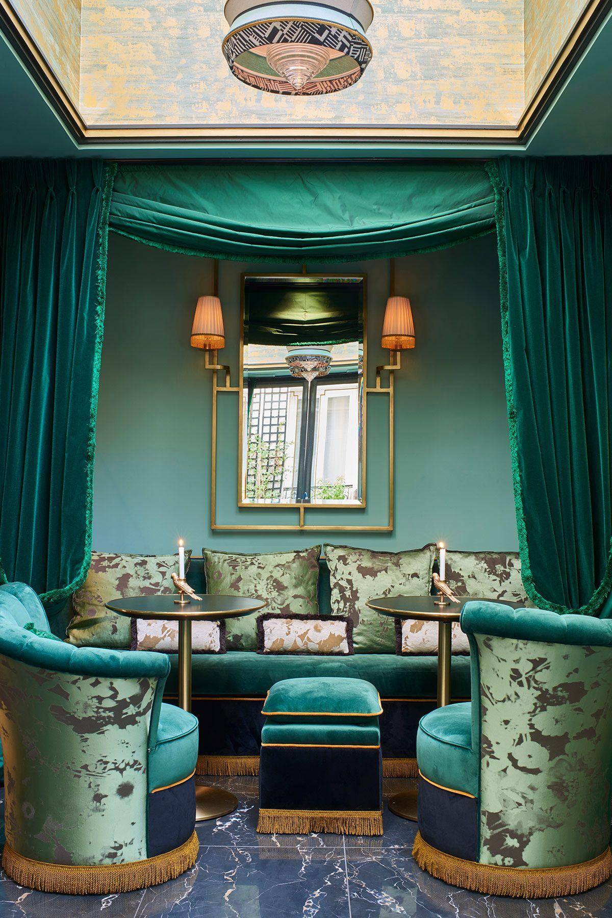 Maison nabis en parís un hotel que cuenta historias scenes