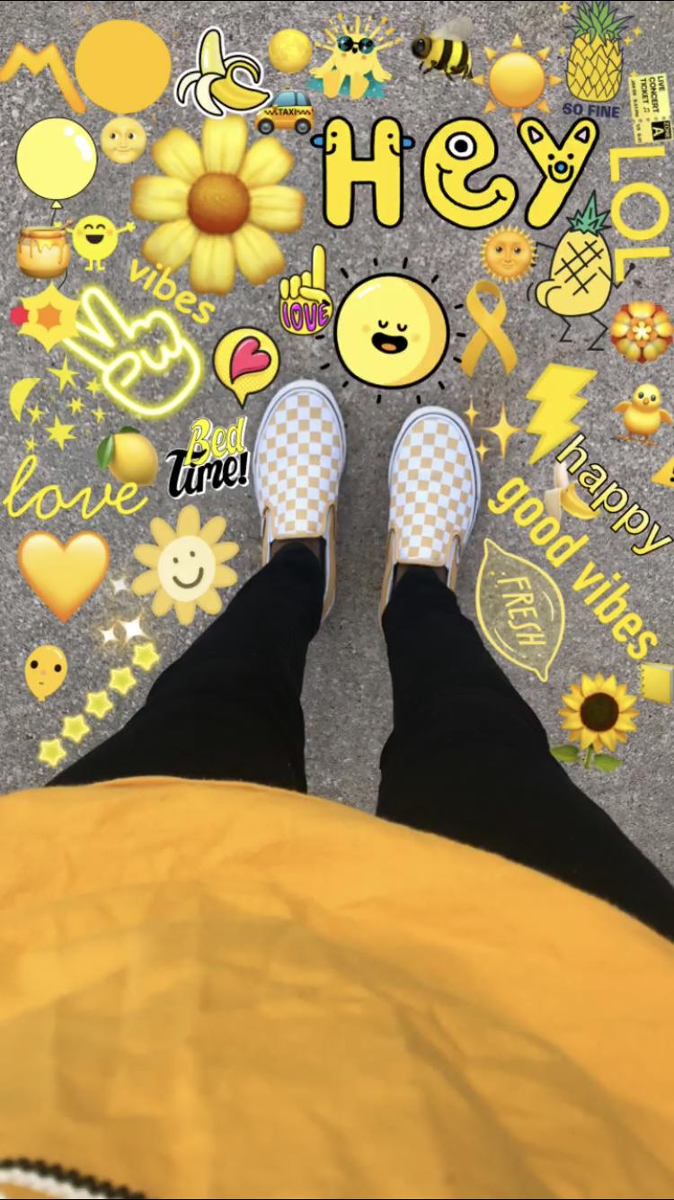 pinterest кαℓєyнσggℓє Yellow vans, Yellow aesthetic
