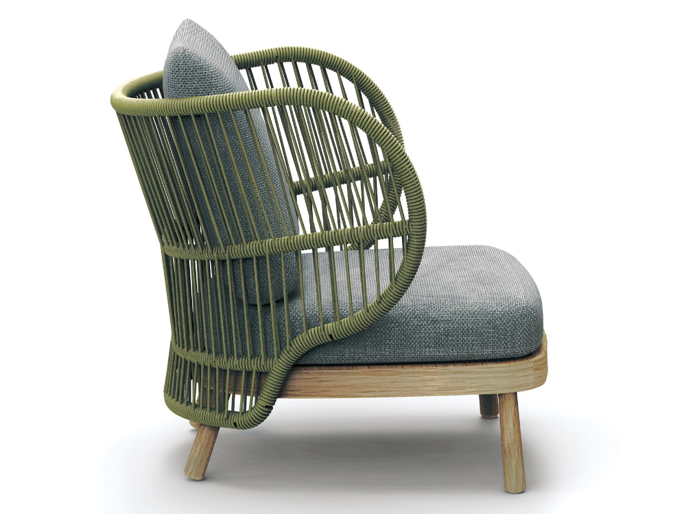 Jumbo Garden Armchair Jumbo Collection By Kun Design Design Kun Qi In 2020 Furniture Lounge Chair Outdoor Lounge Armchair