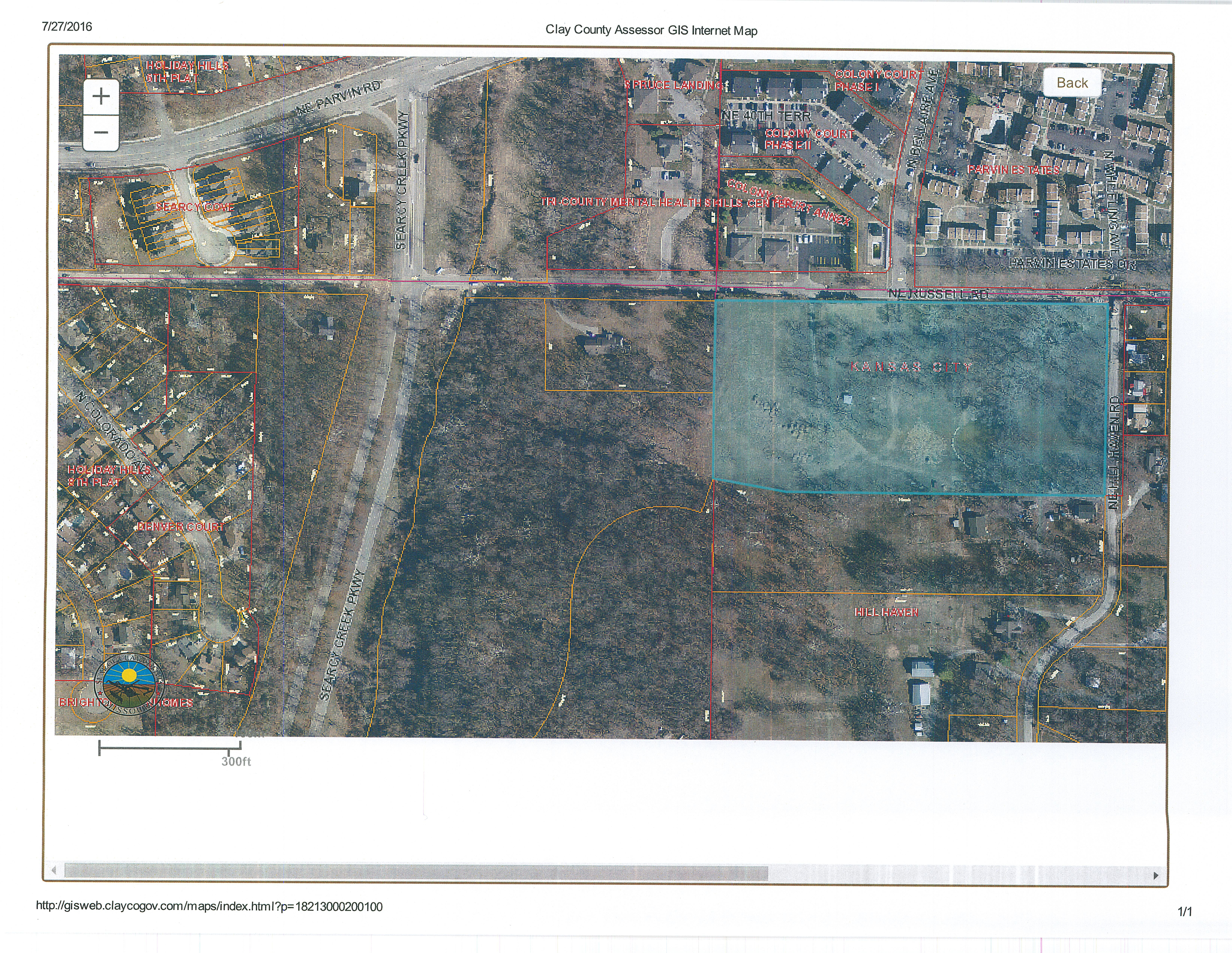 10 Acres for sale in Kansas City North  Minutes from Cerner