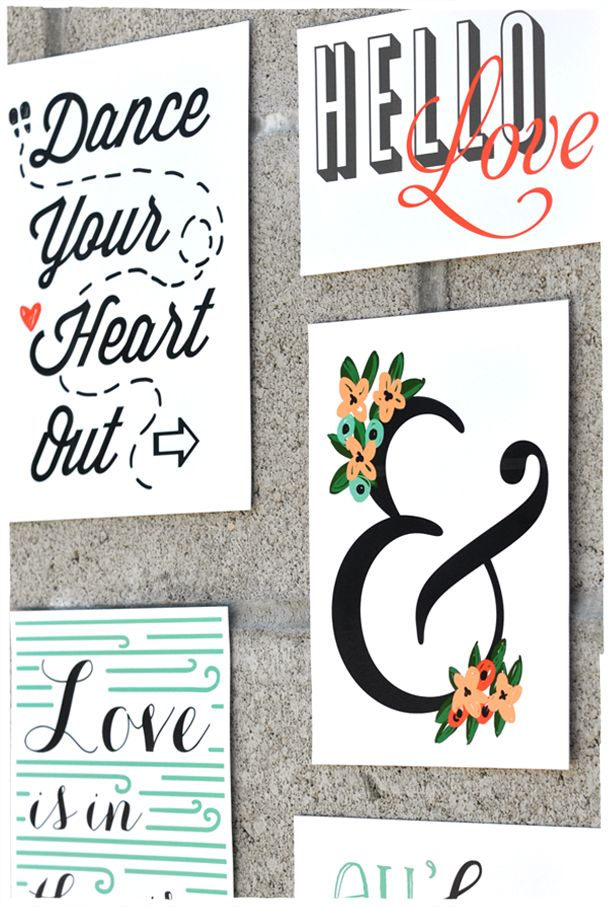 Free Download : Wall Art Collage | Free Printables | Printables