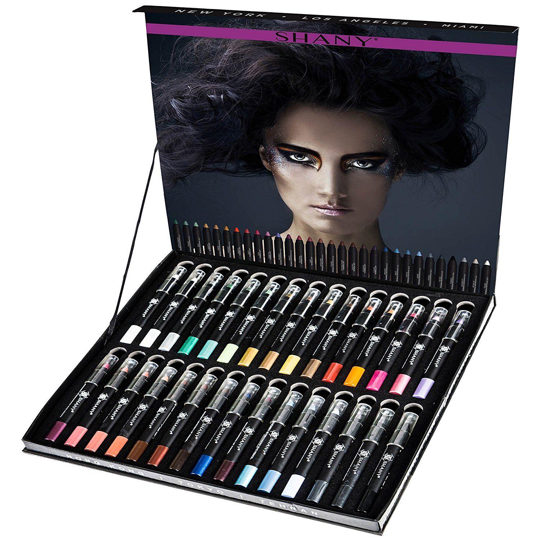 SHANY MultiUse 30 Colors Chunky Pencil Set, Multi