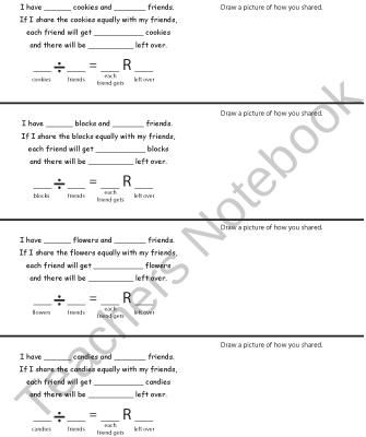 Basic Division Math Center product from CreatedForLearning on ...