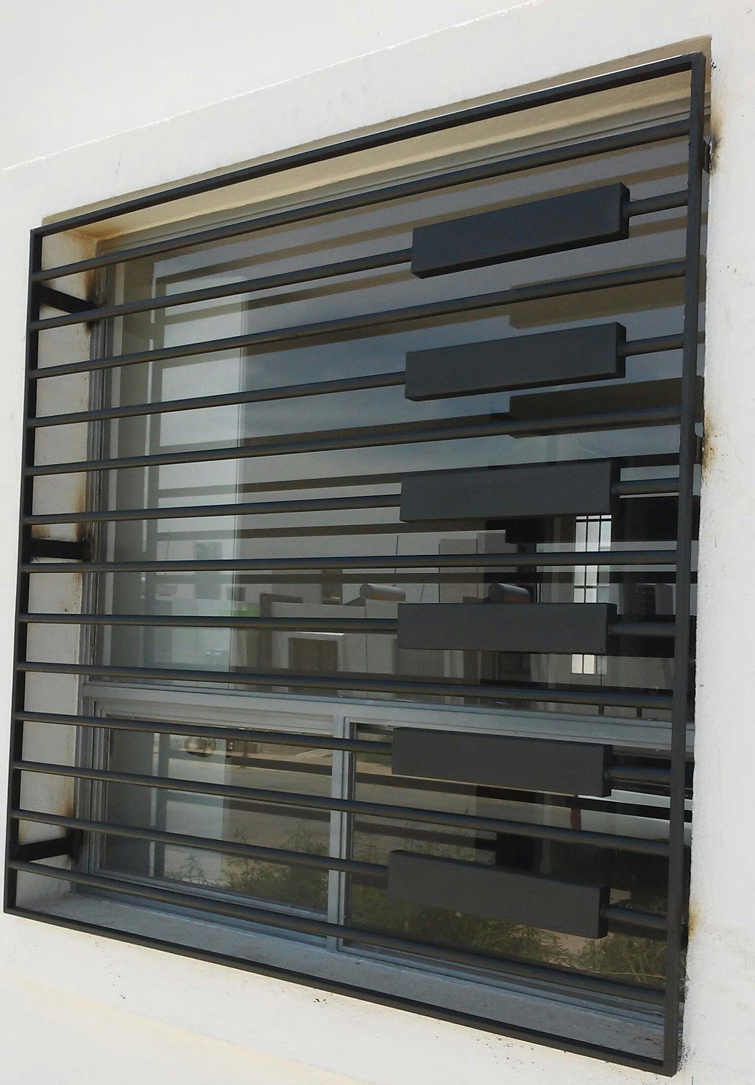 Proteccion de ventana villas buganvilia mis trabajos de herreria pinterest protecciones - Proteccion para casas ...