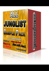 All Junglist Sample Pack contains over 500 skool style