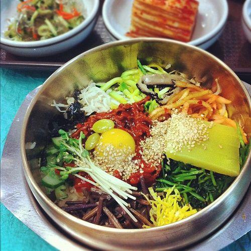 #bibimpap #original #jeonju #korea #비빔밥 #전주 #한국  Delicious Bibiampap from South Korea