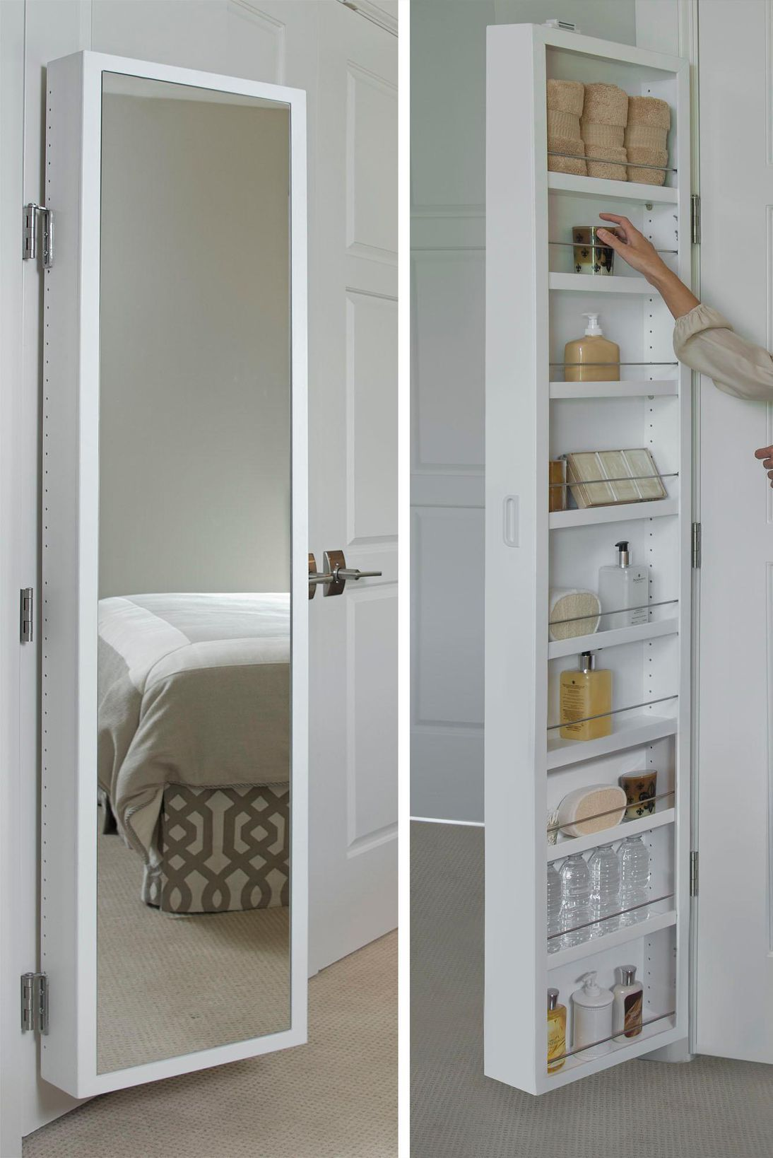 13 clever bathroom organizers you can buy on amazon right on creative space saving cabinets and storage ideas id=70382