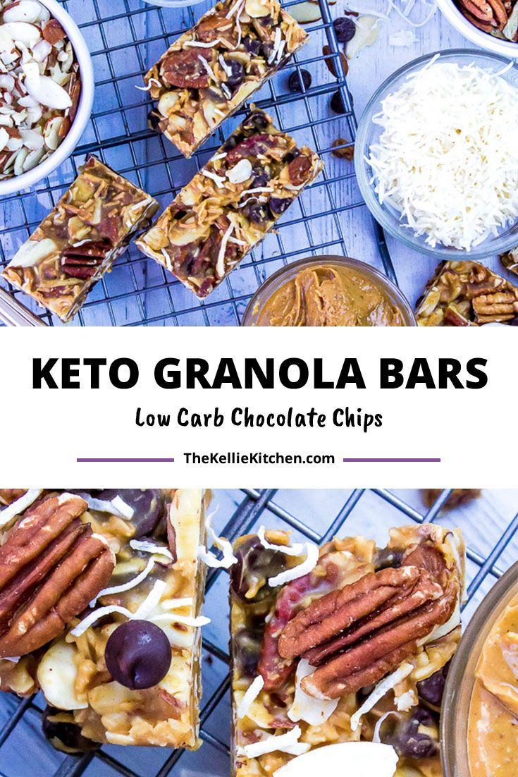 Keto Granola Bars   Recipe in 2020   Keto granola, Nutmeg ...