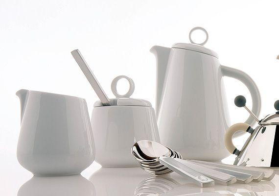 Alessi Bavero Porcelain Mocca Espresso Cup Saucer By Achille