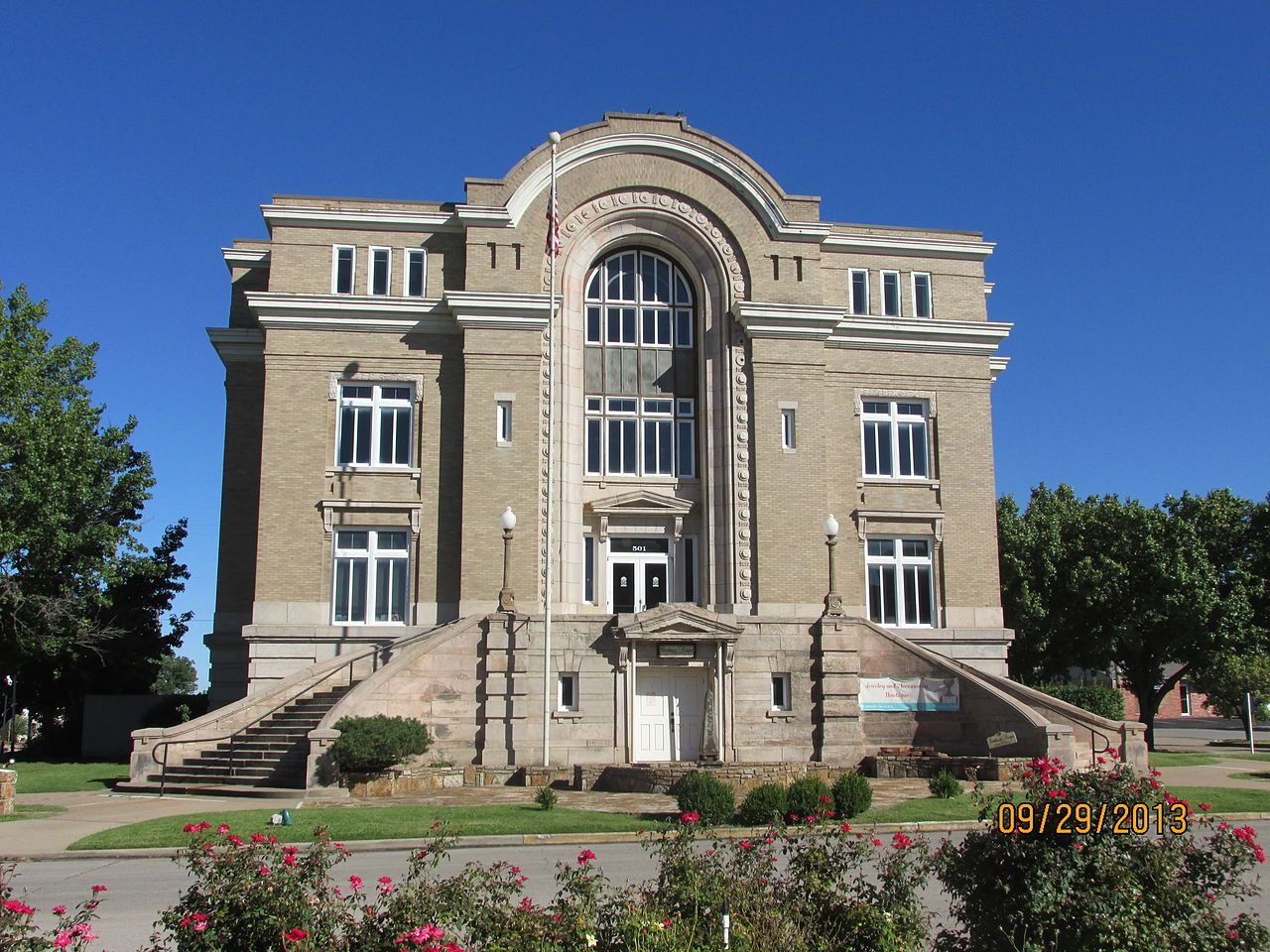 Old Washington County Courthouse in Oklahoma.