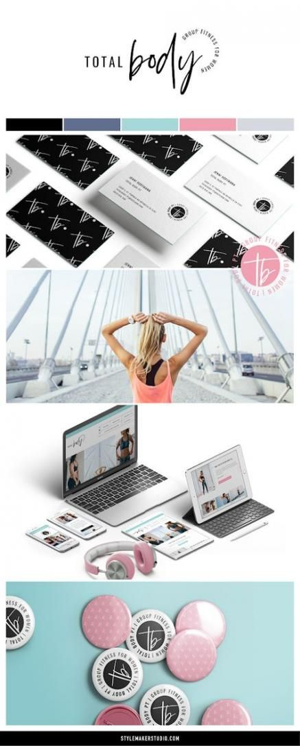 Fitness Logo Design Personal Trainer Business 68 Ideas #fitness