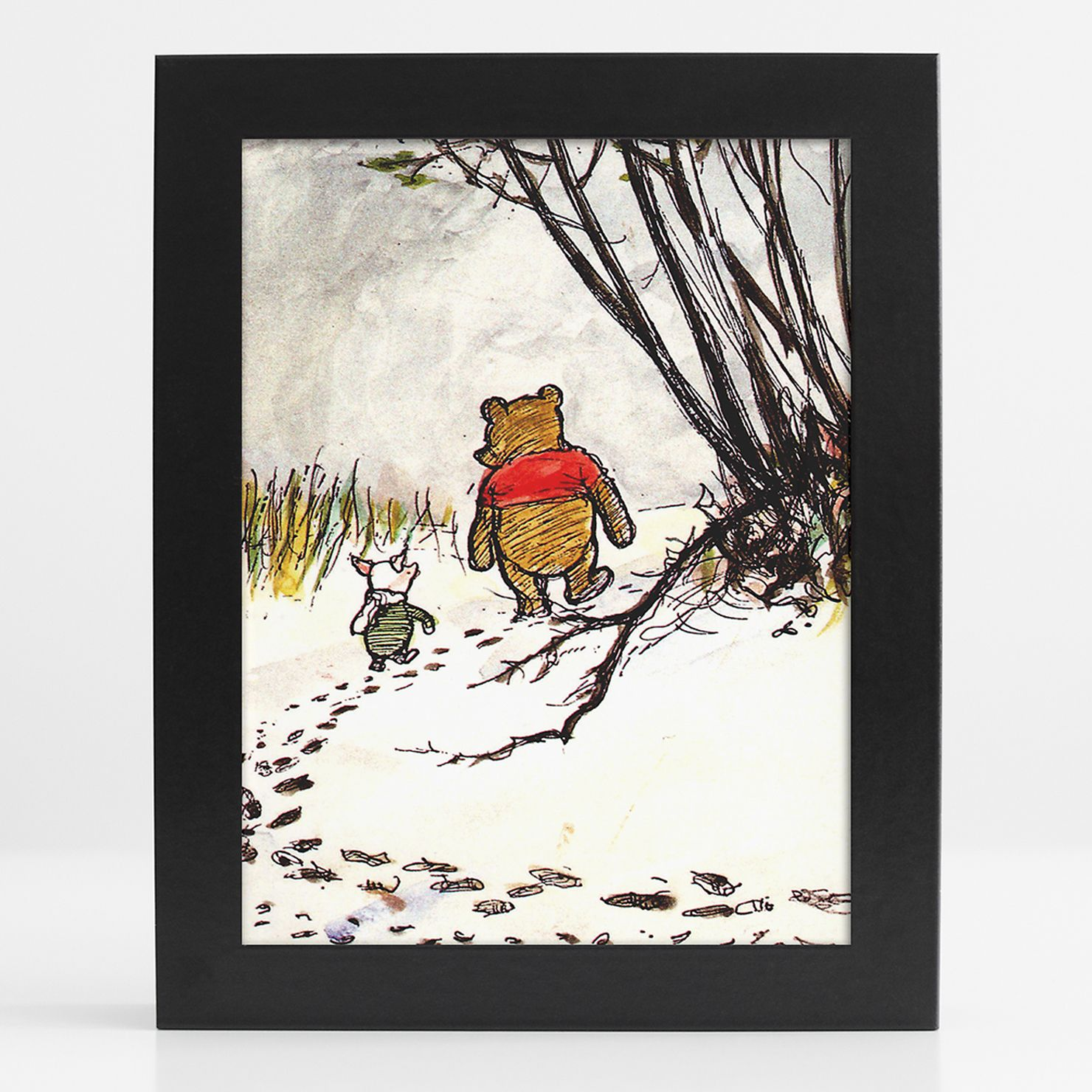 Winnie The Pooh - I'm Not Lost For I Know Where I Am, Framed Print, 15x20cm
