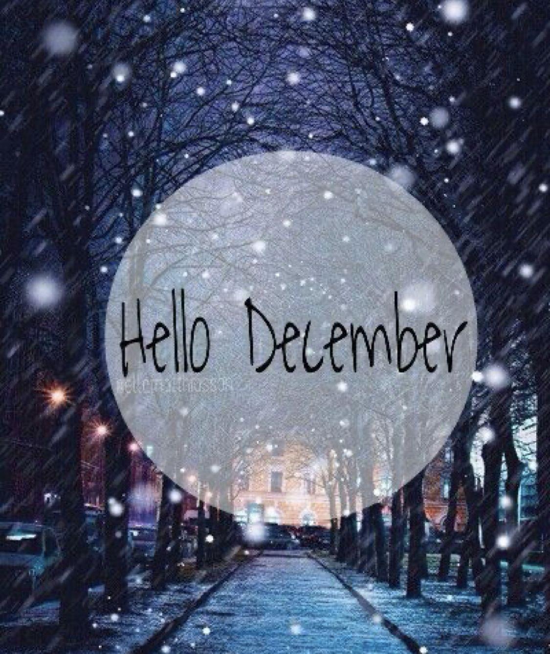 Hello December #decembrefondecran