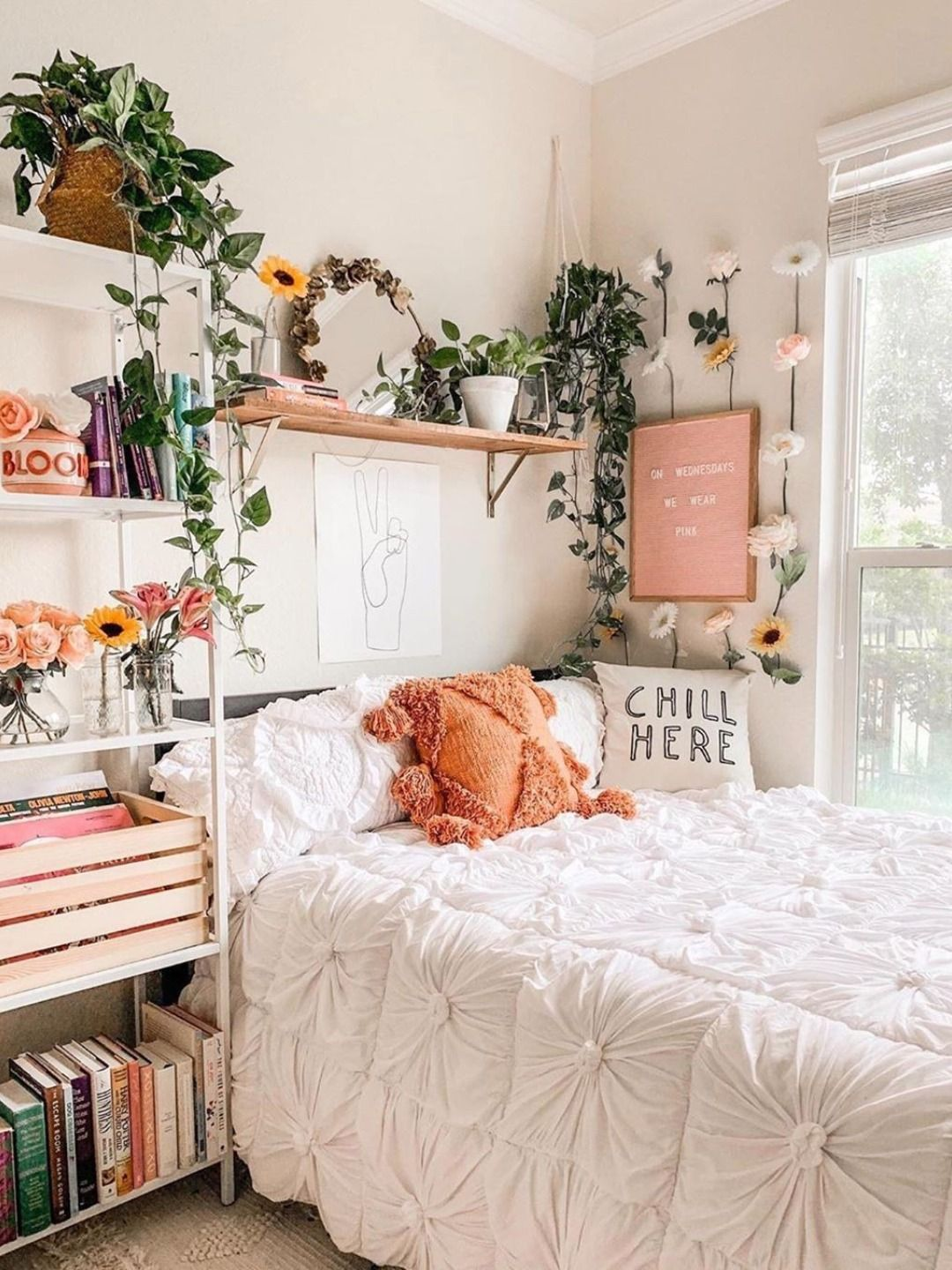 Bohemian Bed Decor