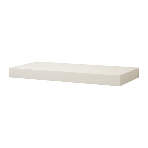 Persby Wall Shelf White 59x26 Cm Ikea Floating Shelves Floating Wall Shelves Shelves