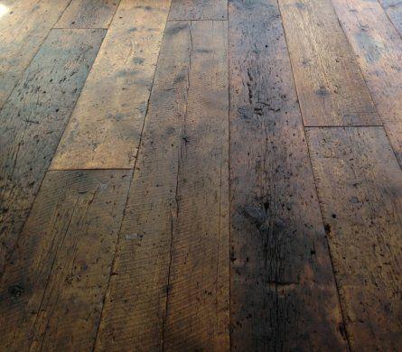 Reclaimed Wood Flooring Barn Threshing Finished With Rubio Pure