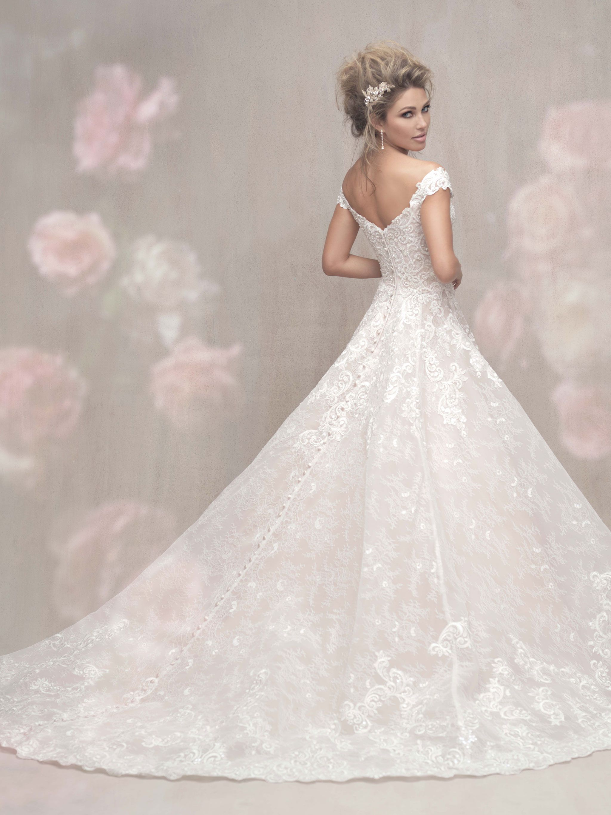 Lace wedding dress designers  Another look at the Allure C  New Arrivals  Pinterest  Allure