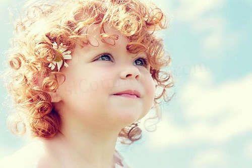 curls. sooo cute