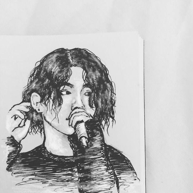 jungkook by cait.alice #jungkooklonghair