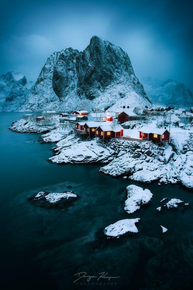 Storm at Hamnoy (Lofoten, Norway) by Darryn Kemper on 500px