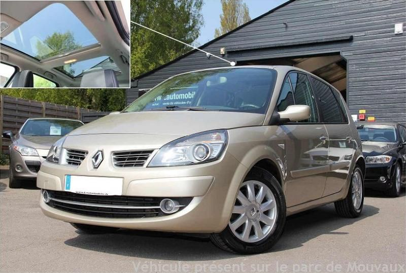 occasion renault scenic ii 2 2 0 dci 150 exception bva occasions v hicules occasion et. Black Bedroom Furniture Sets. Home Design Ideas
